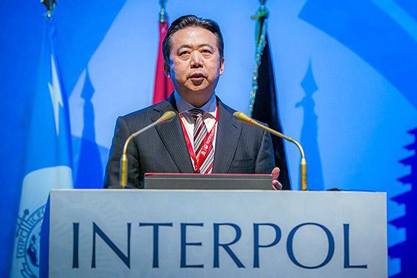 Verschwundener Interpol-Chef in China unter Aufsicht