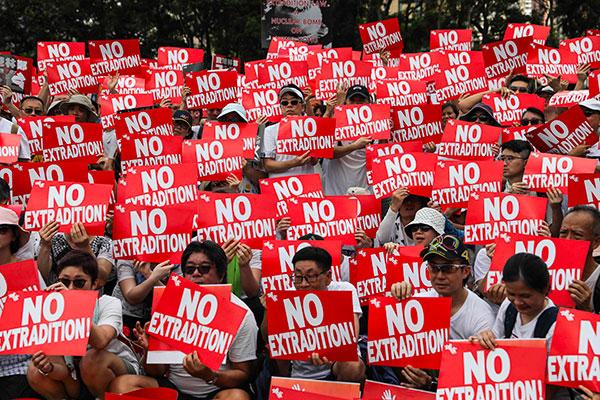 USA besorgt über geplantes Auslieferungsgesetz in Hongkong