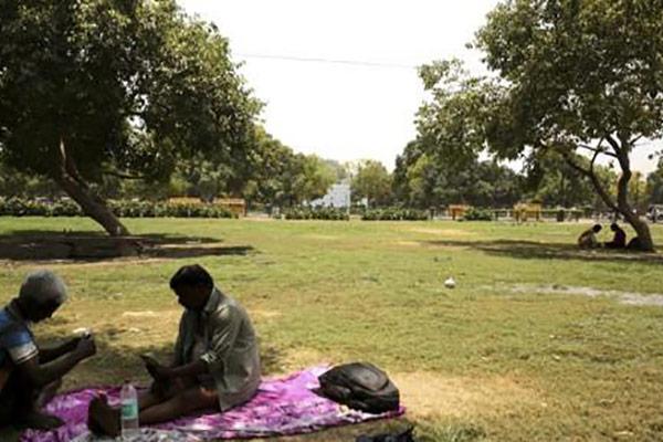 Neu-Delhi leidet unter extremer Hitze