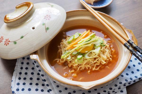 Le secteur des ramyeon chinois mène une concurrence rude sur les plateformes de livraison de repas