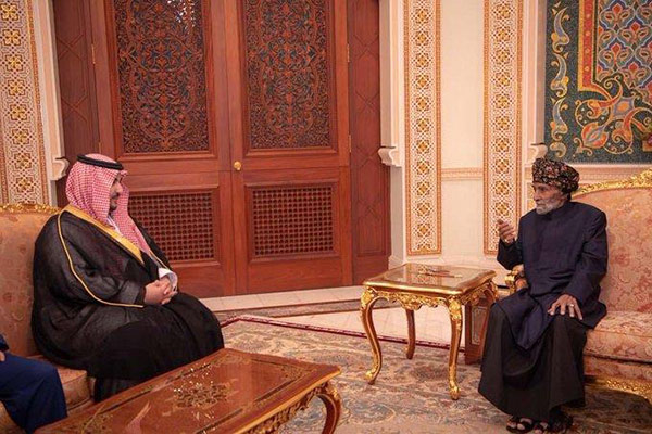 Saudi-Arabiens Vize-Verteidigungsminister besucht Oman