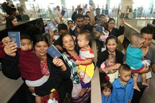 Les réfugiés birmans en Corée du Sud sont tous installés à Bupyeong