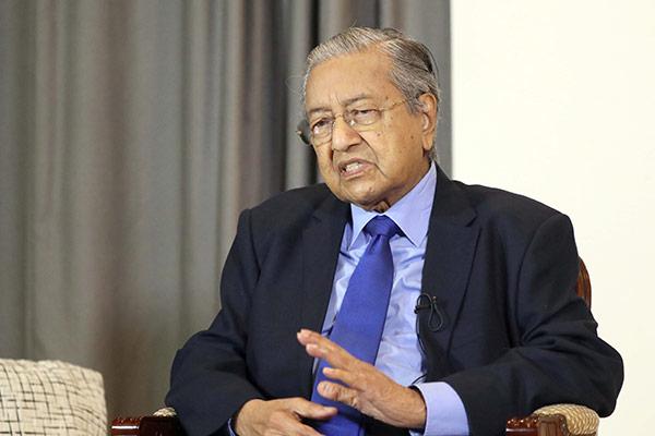 Malaysias Premierminister Mahathir bin Mohamad will vorläufig im Amt bleiben