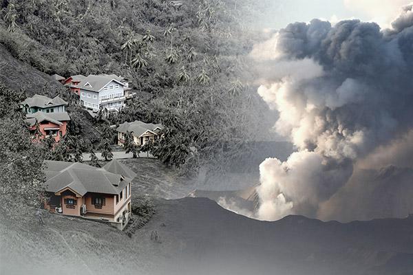 Vulkan Taal auf den Philippinen weiter aktiv
