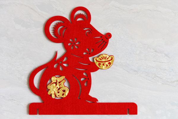 Mickey Mouse profite de l'année du rat en Chine