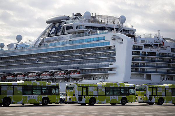 """Ende der Quarantäne: Japan lässt Passagiere der """"Diamand Princess"""" an Land"""