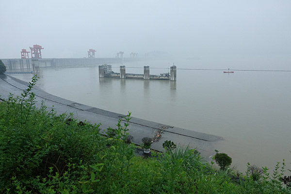 China: Starke Regenfälle setzen Drei-Schluchten-Damm unter Druck
