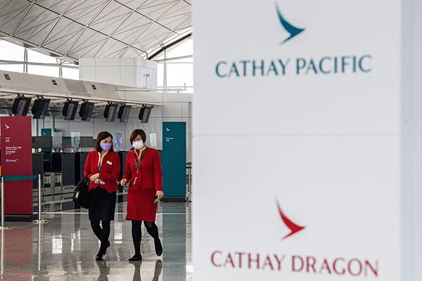 Hongkonger Fluggesellschaft Cathay Pacific streicht 8500 Stellen