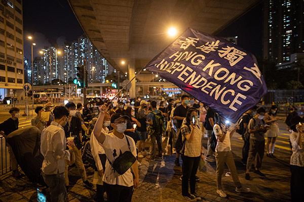 Abwanderungstrend in Hongkong