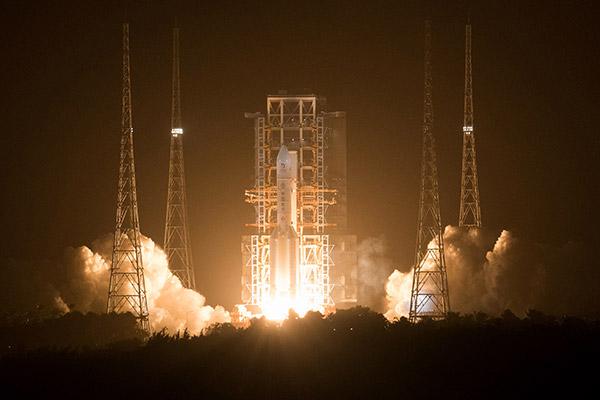 Chinesische Sonde auf dem Mond gelandet