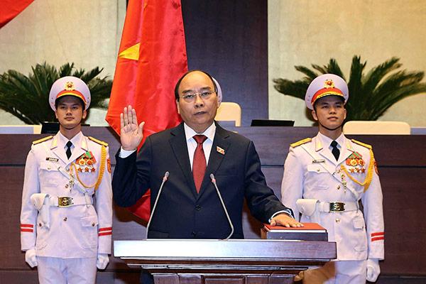 Nguyễn Xuân Phúc ist neuer Staatspräsident Vietnams