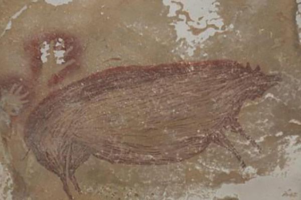 Indonésie : le changement climatique abîme les plus anciennes fresques pariétales