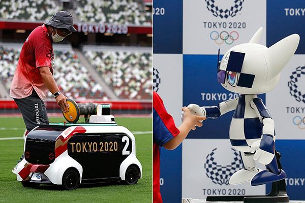 Les JO de Tokyo sont accompagnés de robots