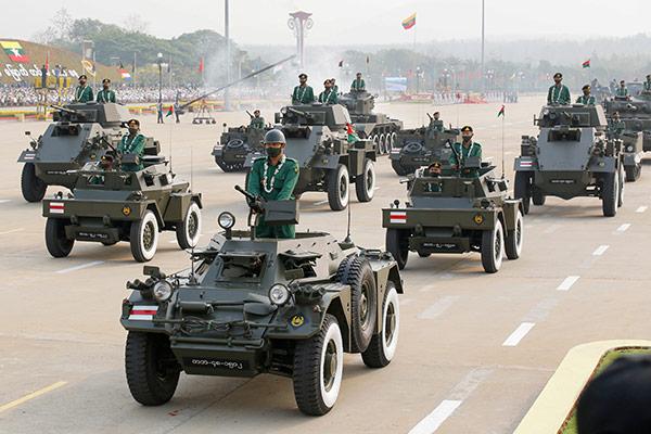 Myanmars Gegenregierung ruft zum Widerstand auf