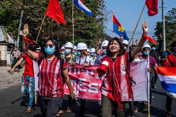 Time : deux résistantes birmanes parmi les personnes les plus influentes au monde