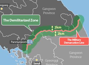 南北韩非军事区发展为和平地区 南北韩开始拆除扩音器