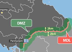 Démantèlement des hauts-parleurs installés le long de la frontière intercoréenne