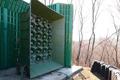 Koreas bauen Lautsprecher an der Grenze ab