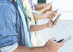 Экспорт средств мобильной связи