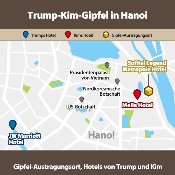 Trump-Kim-Gipfel in Hanoi