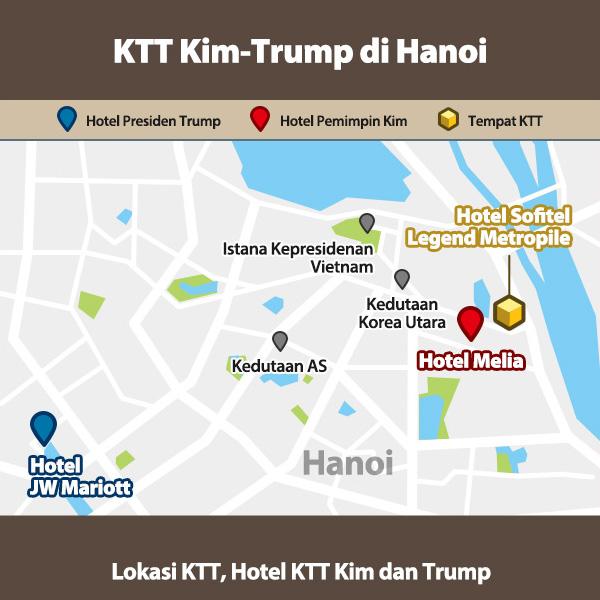 KTT Kim-Trump di Hanoi