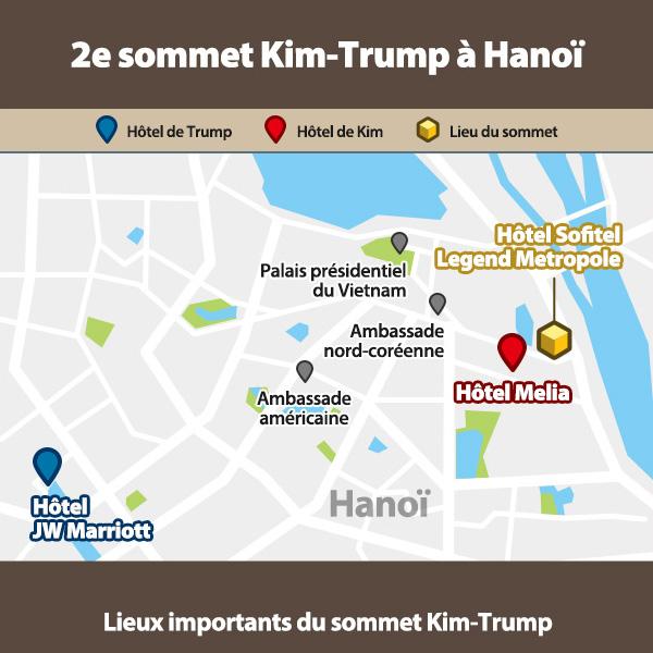 2e sommet Kim-Trump à Hanoï