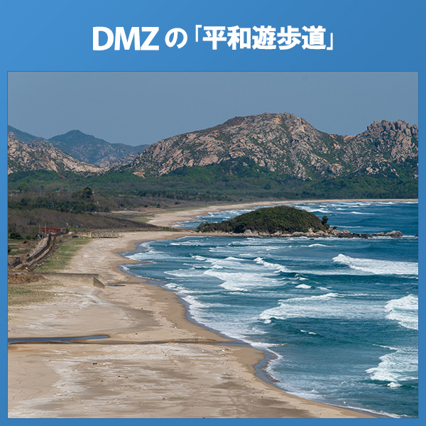 DMZの「平和遊歩道」