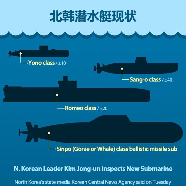 北韩潜水艇现状