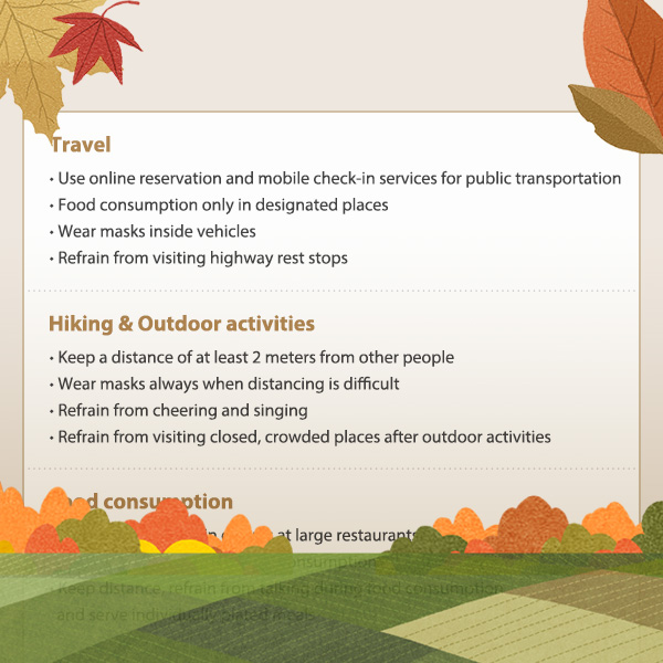 Quarantine and Distancing Rules for Hiking and Outdoor Activities