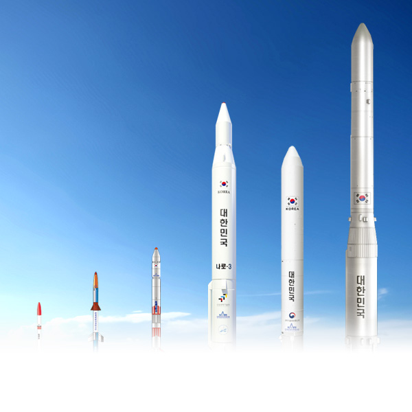 韩国发射体发展历史