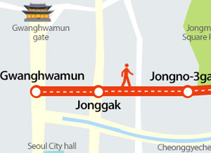 Jongno May Become Car-free on Weekends