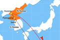 N. Korea Threatens to Fire Ballistic Missiles to Contain US Air Bases in Guam