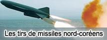 Les tirs de missiles nord-coréens