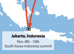 Moon effectue une tournée en Asie du Sud-est