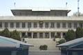 Präsident Moons Entourage beim Korea-Gipfel