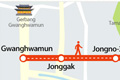 Jalan Jongno akan Bebas Kendaraan Pada Akhir Pekan