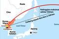 Korea Utara Menembakkan Misil Balistik Melintasi Jepang