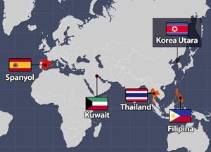 Negara-Negara yang Bereaksi atas Uji Coba Nuklir ke-6 Korea Utara