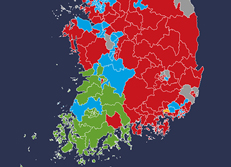 国会議員総選挙 議席の結果