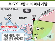북 GPS 교란 거리 확대 개발