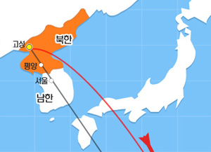 북한, 괌 포위사격 위협