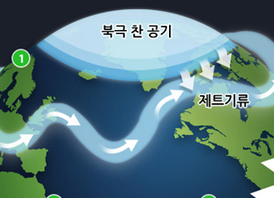 최강 한파 원인은?...'지구온난화의 역설'