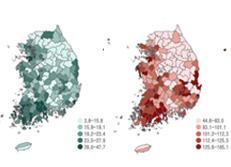 Уровень заболеваемости раком по видам и регионам