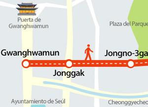 Проспект Чонно в Сеуле в выходные дни станет пешеходным