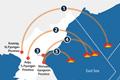 Пуски ракет Пхеньяном после прихода Мун Чжэ Ина к власти в РК
