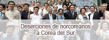 Deserciones de norcoreanos a Corea del Sur