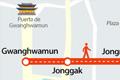 Jongno podría convertirse en peatonal los fines de semana