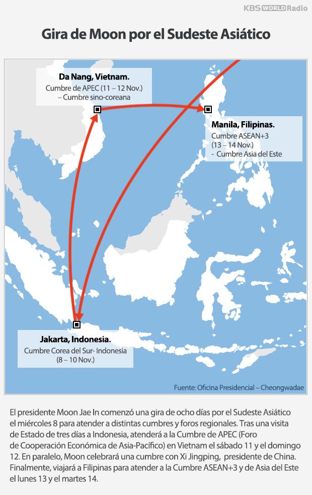 Gira de Moon por el Sudeste Asiático