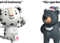 Linh vật Olympic mùa đông Pyeongchang 2018