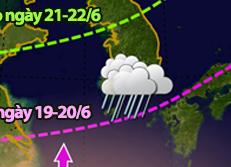 Mùa mưa tại Hàn Quốc bắt đầu vào ngày 19/6!